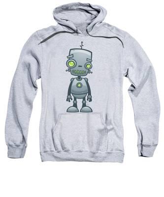 Robot Hooded Sweatshirts T-Shirts