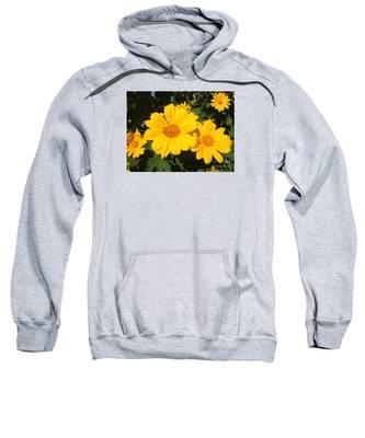 Happy Yellow Sweatshirt