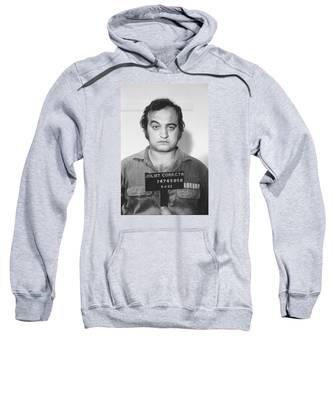 John Belushi Mug Shot For Film Vertical Sweatshirt