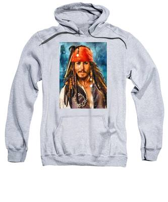 Johnny Depp As Jack Sparrow Sweatshirt