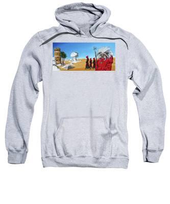 Journey To The White Desert Sweatshirt
