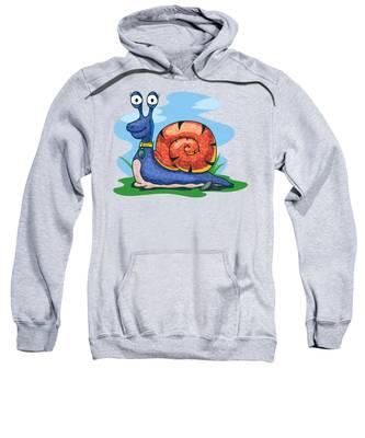 Larry The Snail Sweatshirt