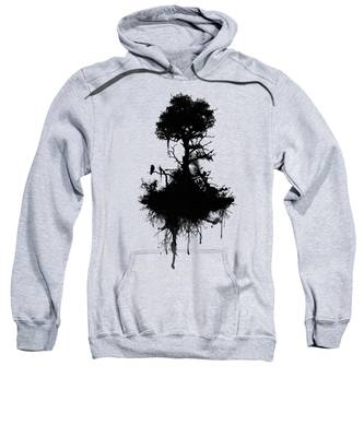 Tree Branches Hooded Sweatshirts T-Shirts