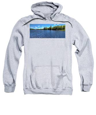Late Spring On 6th Lake Sweatshirt