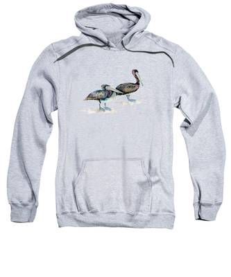 Laurel And Hardy, Brown Pelicans Sweatshirt