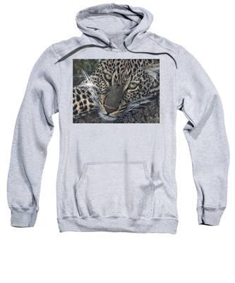 Leopard Portrait Sweatshirt