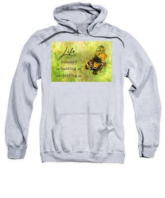 Life Is A Balance Sweatshirt