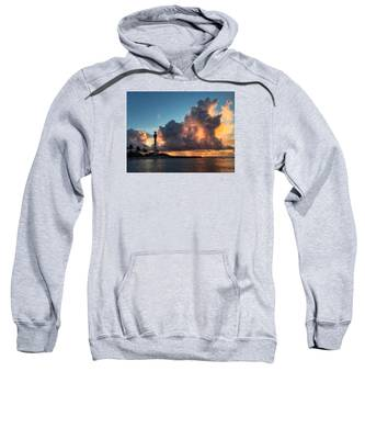 Lighthouse In Orange Sweatshirt
