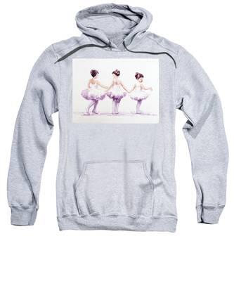 Little Ballerinas-3 Sweatshirt