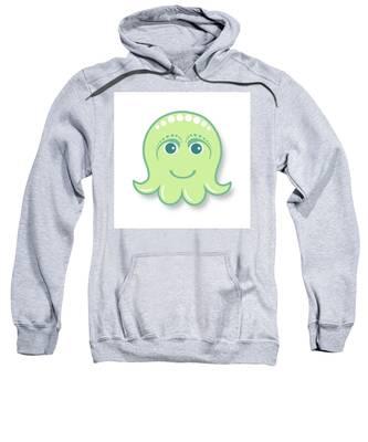 Fish Hooded Sweatshirts T-Shirts