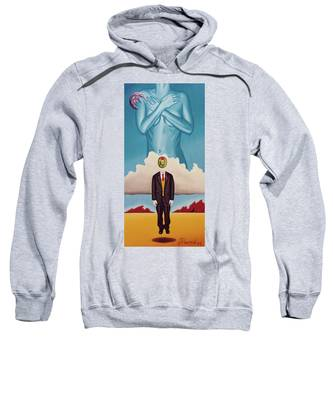 Man Dreaming Of Woman Sweatshirt