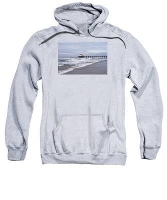 Manhattan Pier Surf And Waves Sweatshirt