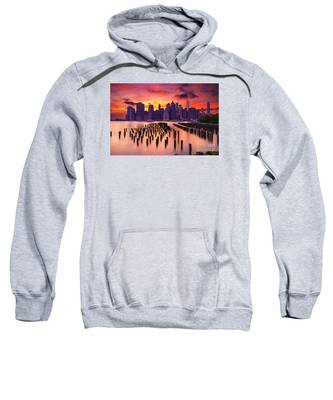 Manhattan Sunset Sweatshirt