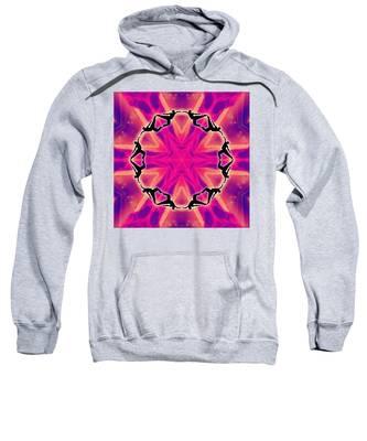 Neon Slipstream Sweatshirt by Derek Gedney