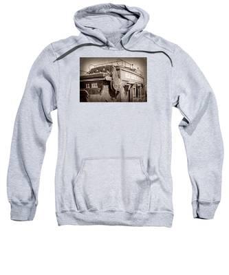 Old Santa Fe Stagecoach Sweatshirt