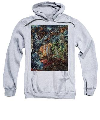 Opening Of The Fifth Seal After El Greco Sweatshirt