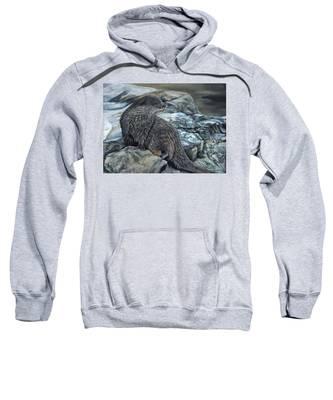 Otter On Rocks Sweatshirt