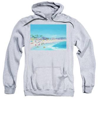 Pacific Beach In San Diego Sweatshirt