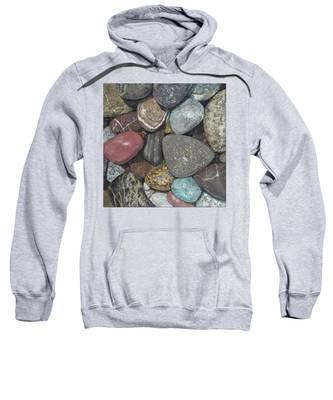 Pacific Nw Beach Rocks Sweatshirt