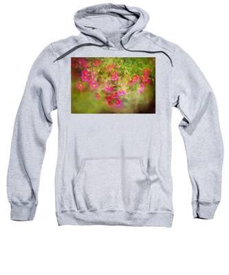 Painted Flowers Sweatshirt