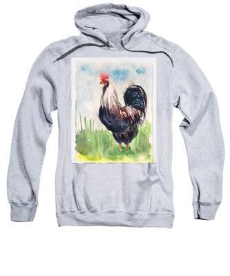 Paunchy Rooster Sweatshirt
