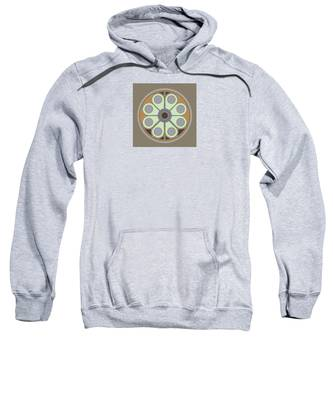 Peace Flower Circle Sweatshirt