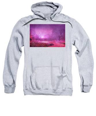 Pink Landscape Sweatshirt