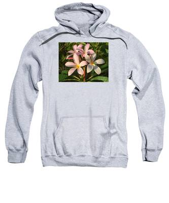 Plumeria Heaven Sweatshirt