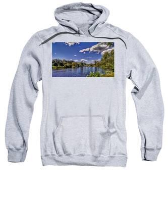 Pond At Verona Park Sweatshirt
