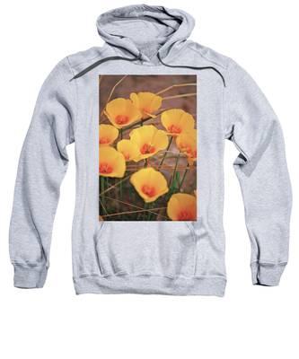 Poppies On Mount Lemmon Sweatshirt