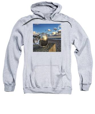 Reflecting Sunglasses Sweatshirt