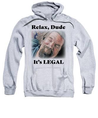 Relax, Dude Sweatshirt