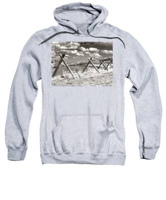 Sweatshirt featuring the photograph River Drama by Susan Kinney