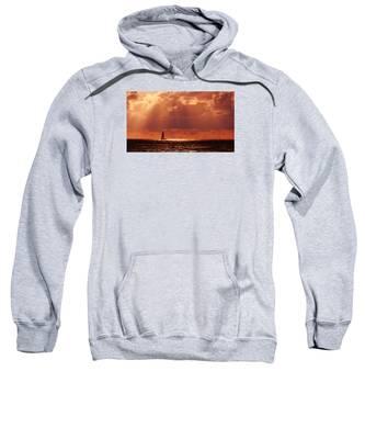 Sailboat Sun Rays Sweatshirt