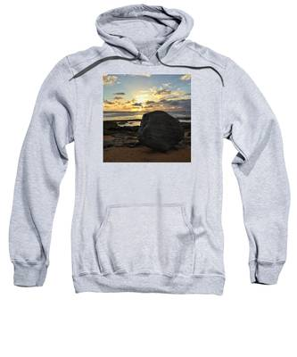 Shining Over The Boulder  Sweatshirt
