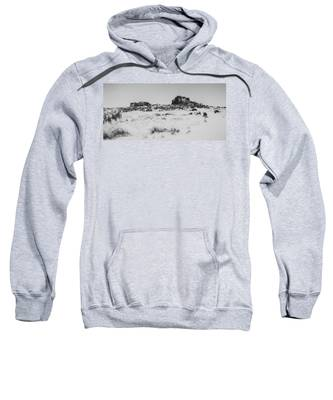 South Hessary Tor In The Snow Sweatshirt