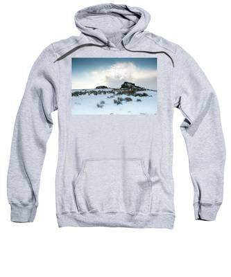 South Hessary Tor In The Snow II Sweatshirt