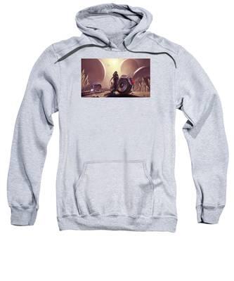 Space The Final Frontier Sweatshirt