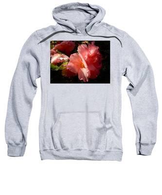 Splash Of Begonia Sweatshirt