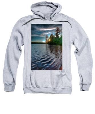 Star Sunset On Nicks Lake Sweatshirt