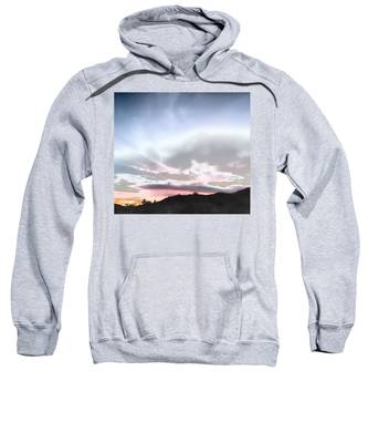Sweatshirt featuring the photograph Submarine In The Sky by Judy Kennedy