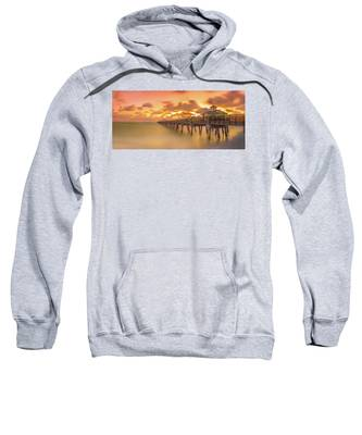 Sunrise At Juno Beach Sweatshirt