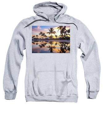 Sunrise Cyclist Delray Beach Florida Sweatshirt