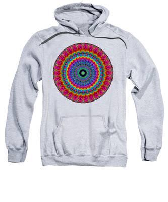 Super Rainbow Mandala Sweatshirt