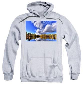 Tamarack Reflections In The Adirondacks Sweatshirt
