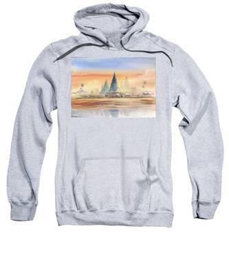 Temples In The Dusk Sweatshirt