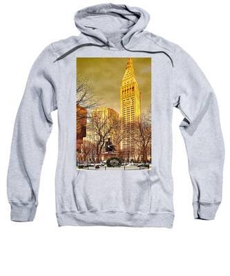 Ten Past Four At Madison Square Park Sweatshirt