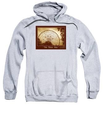 Texas Star In Gold Sweatshirt