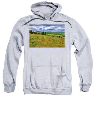 The Grasses Of Kamiak Butte Sweatshirt