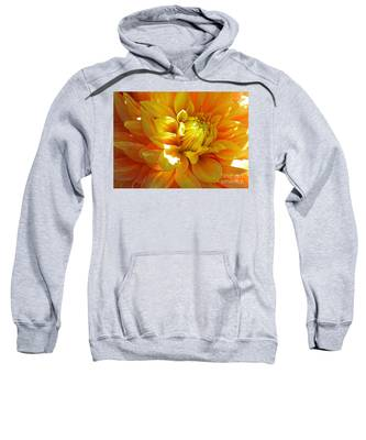 The Heart Of A Dahlia Sweatshirt